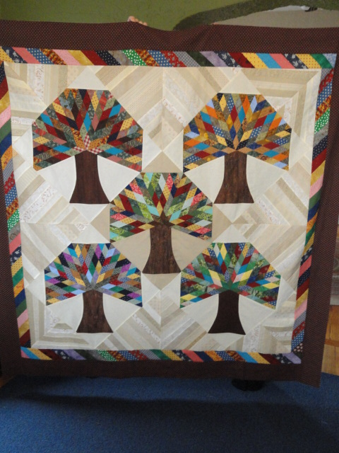 Scrappy Trees Quilt