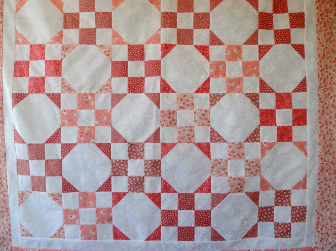 Sweet little girl quilt
