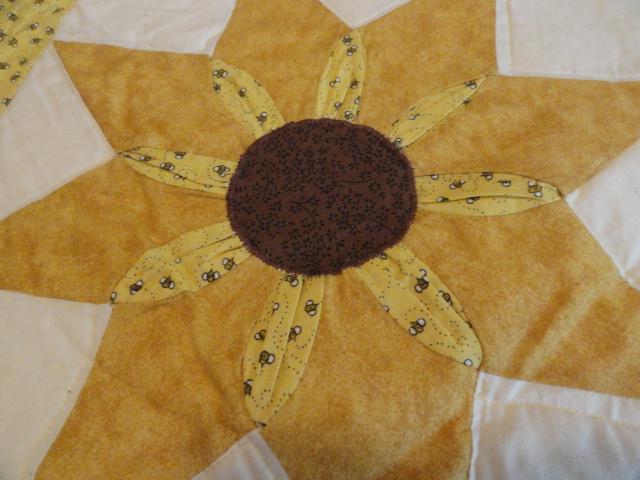 Sunflower block