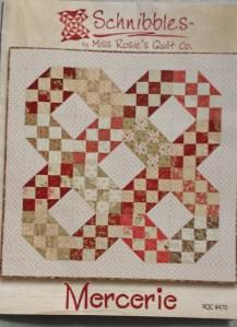 Mercerie quilt pattern