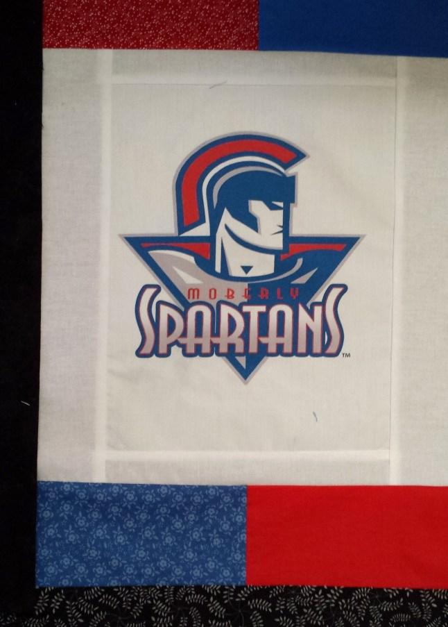 Spartan photo quilt