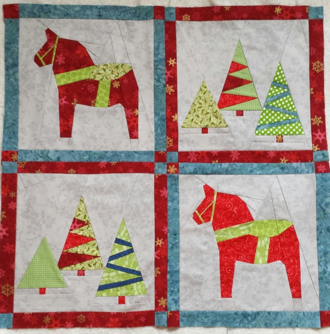 little christmas quilt