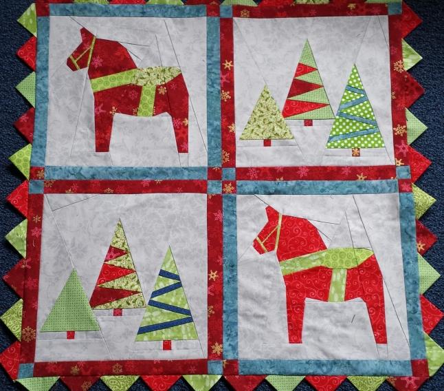 little christmas quilt