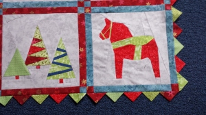 prairie points on quilt