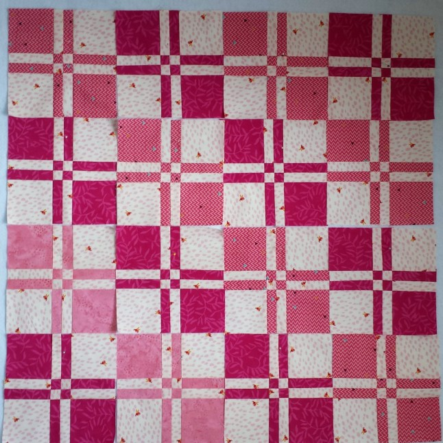 Disappearing 4 patch quilt