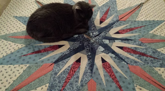 antique compass quilt
