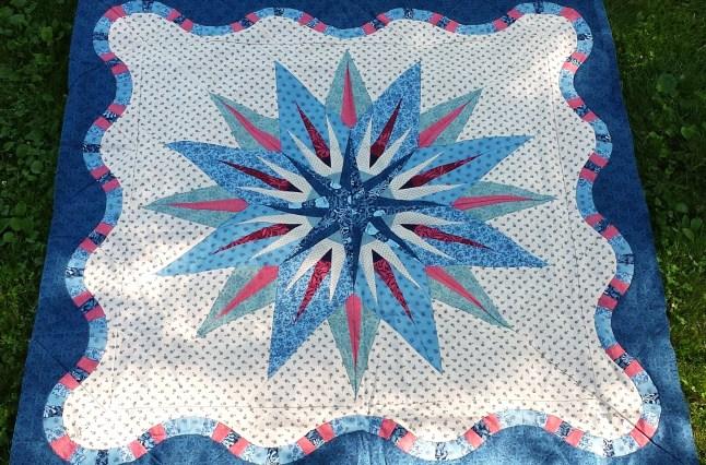 vintage compass quilt