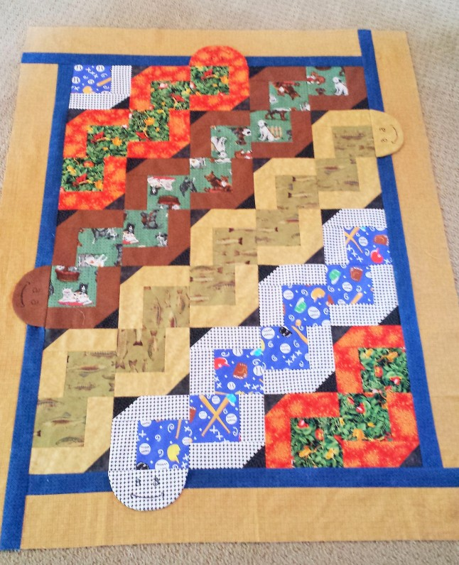 Wiggly Worms quilt