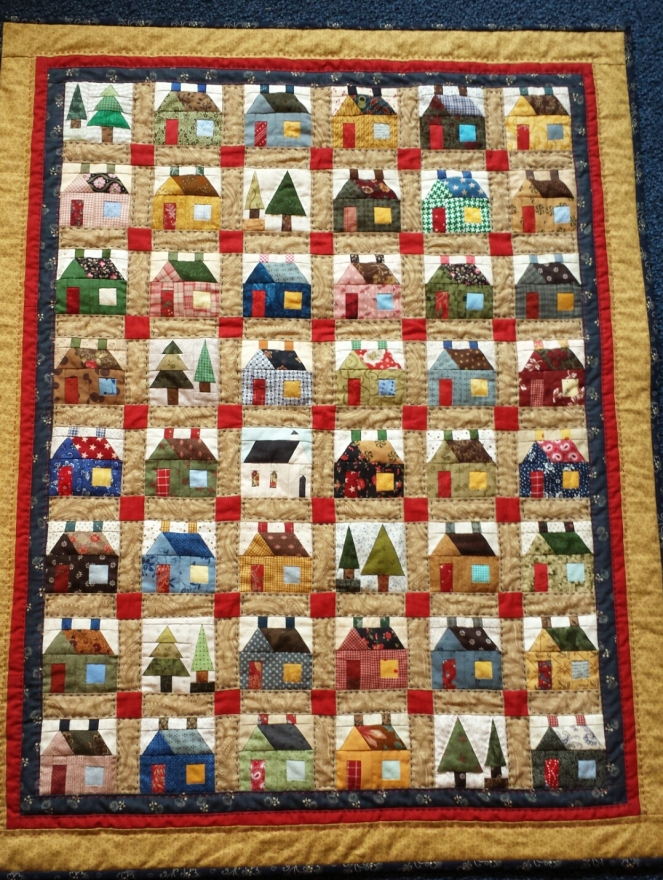 Tiny House quilt