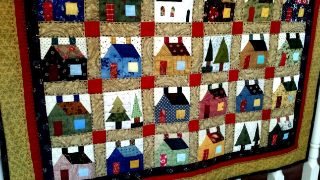 Tiny houses quilt